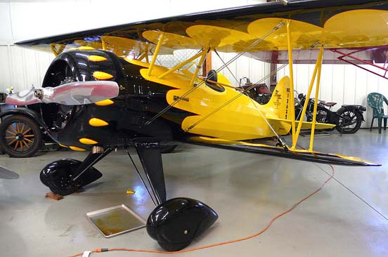 Flagg biplane from 1933.