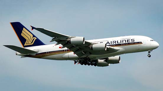 The first airline to operate the aircraft was Singapore Airlines.