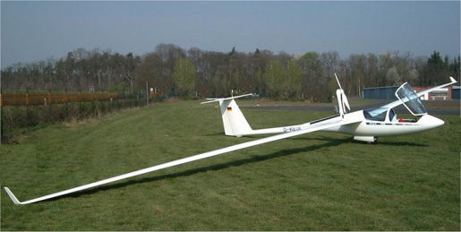 ASH25M - a self-launching two-seater glider