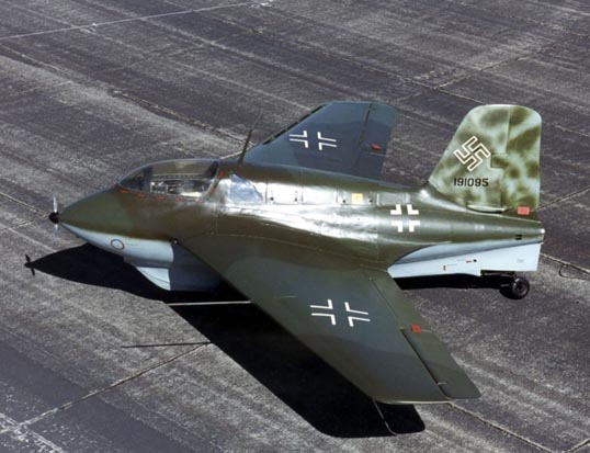 Me 163B on display at the National Museum of the USAF