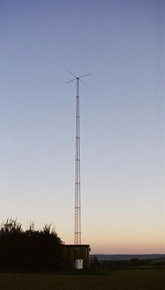 Radio Tower of NKR Leimen-Ochsenbach, Germany
