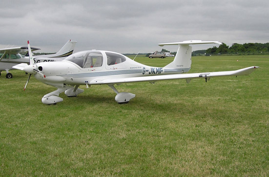 Diamond DA40-TDI Diamond Star-burns diesel or jet fuel