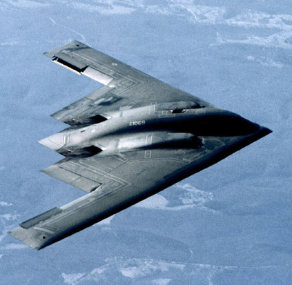 B-2 Spirit stealth bomber of the U.S Air Force
