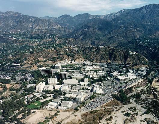The JPL complex in Pasadena, California