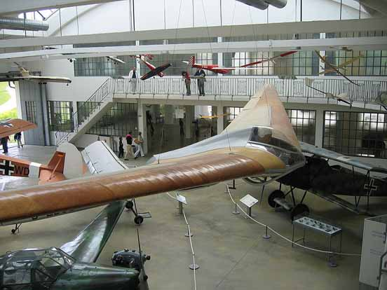 Horten Ho IV flying wing sailplane recumbent glider