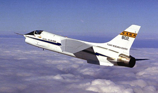F-8C Crusader digital fly-by-wire testbed