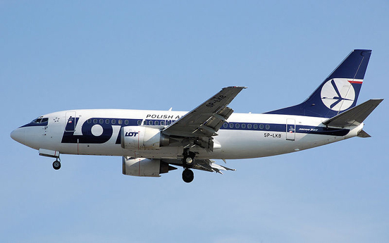 LOT Polish Airlines 737-500