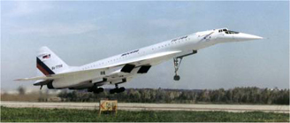 Tu-144 supersonic airliner