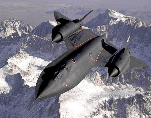 The SR-71 Blackbird is the current record holder for a manned airbreathing jet aircraft.