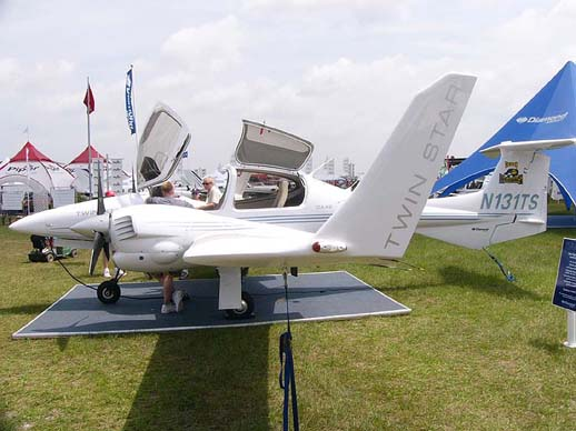 Diamond DA42 TwinStar-first diesel powered aircraft