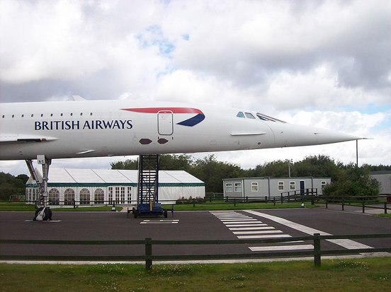 Concorde (G-BOAC) at the Manchester International Airport Aviation Viewing Park