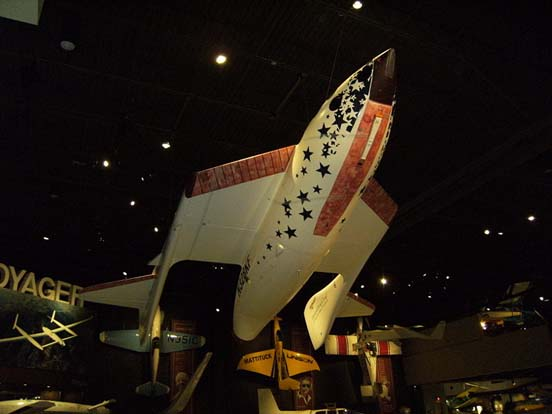 SpaceShipOne Replica in normal configuration