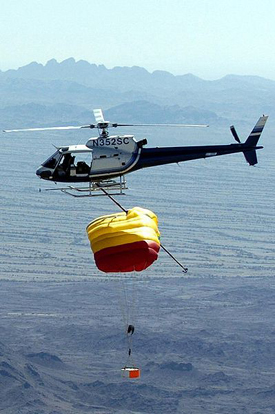 The planned mid-air retrieval was extensively rehearsed