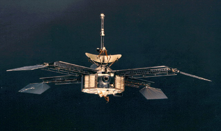 Mariner 4 First Mars flyby
