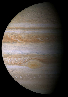 Jupiter flyby picture