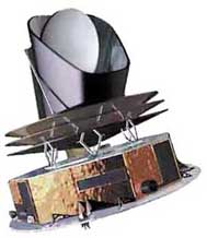 Artist's impression of the Planck spacecraft