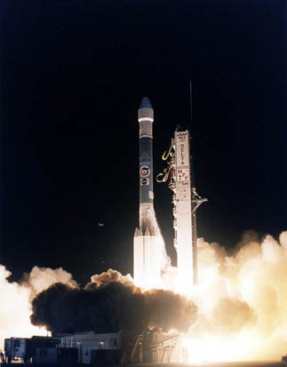 Mars Pathfinder launched on 4 December 1996