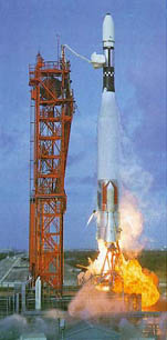 Launch of Mariner 4
