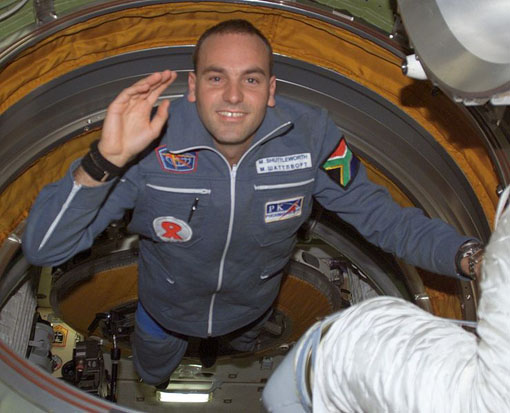Mark Shuttleworth, the second space tourist to visit the ISS