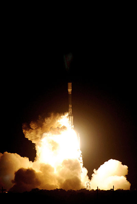 Kepler mission launch, March 6, 2009.
