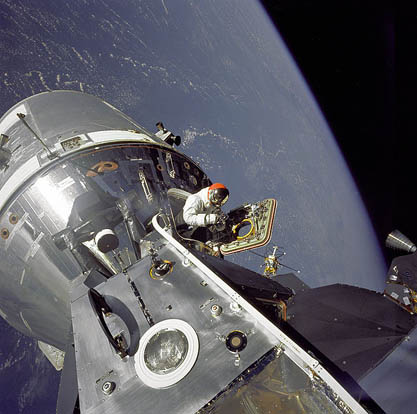 Dave Scott's spacewalk on Apollo 9
