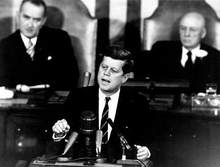 The Decision to Go to the Moon: President John F. Kennedy's May 25, 1961 speech before a Joint Session of Congress