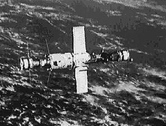 DOS-5 (Salyut 6) space station with two docked spacecraft
